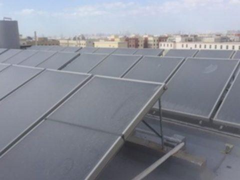 15000 LPD Solar water heater Labour Accommodation DIP Dubai