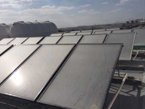 9000 LPD Solar water heater staff accommodation Al Awir Dubai