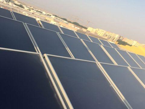 12000 LPD Solar Water Heater Jafza Dubai