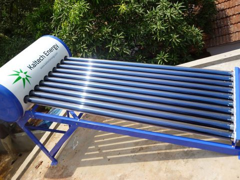 ETC Solar Water Heater Kochi India