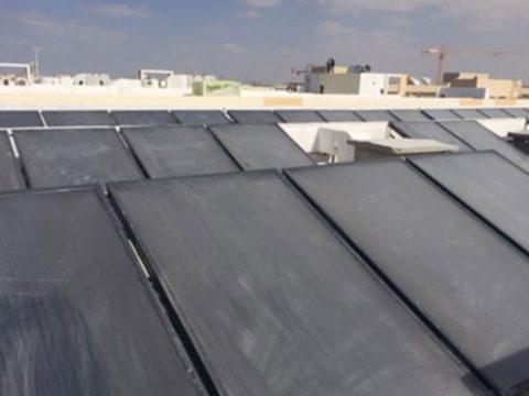 11000 LPD Solar Water Heater Project At Jebel Ali Ind Area1 Dubai UAE